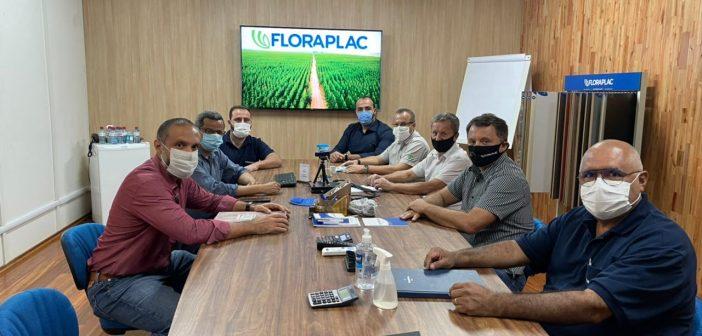 Prefeitura de Paragominas e Floraplac dialogam sobre projetos que visam o crescimento econômico e social de Paragominas