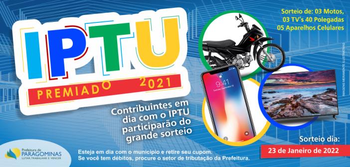 Cupons do IPTU Premiado 2021 já estão sendo distribuídos