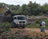 Seminfra avança com obra da construção da orla do Rio Paragominas