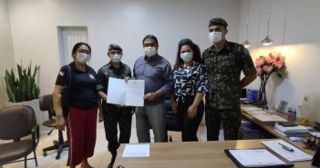 Prefeito Lucídio Paes assina termo de posse como Presidente da Junta do Serviço Militar de Paragominas